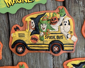 Spook Bus Magnet