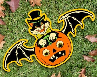 Fright Flyer Halloween Die Cut Decoration
