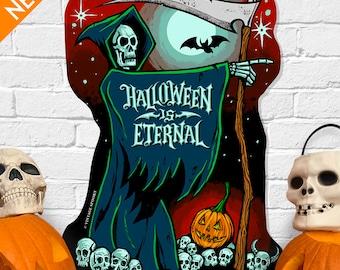 Halloween Is Eternal - Vintage Style Halloween Die Cut Decoration