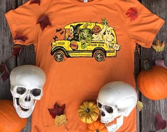 Spooky Bus T-shirt
