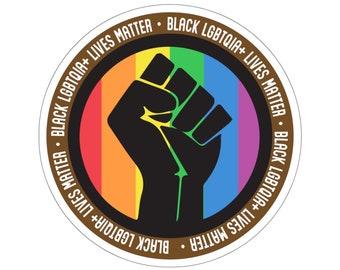2021 PRIDE Collection - Black LGBTQIA+ Lives Matter Sticker