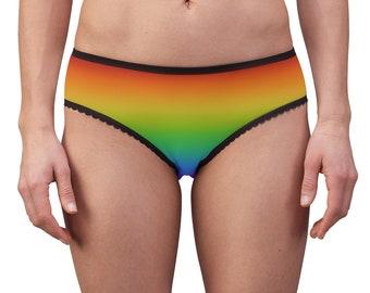 2021 PRIDE Collection - Gradient Rainbow Women's Briefs