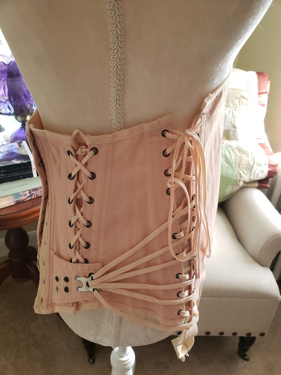 Pale Pink 1930s CAMP Lingerie Girdle