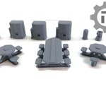 Dragons Rest Sci Fi Canteen Set 28mm Wargame Terrain Great For Warhammer 40K, Star Wars Legion, Infinity the Game