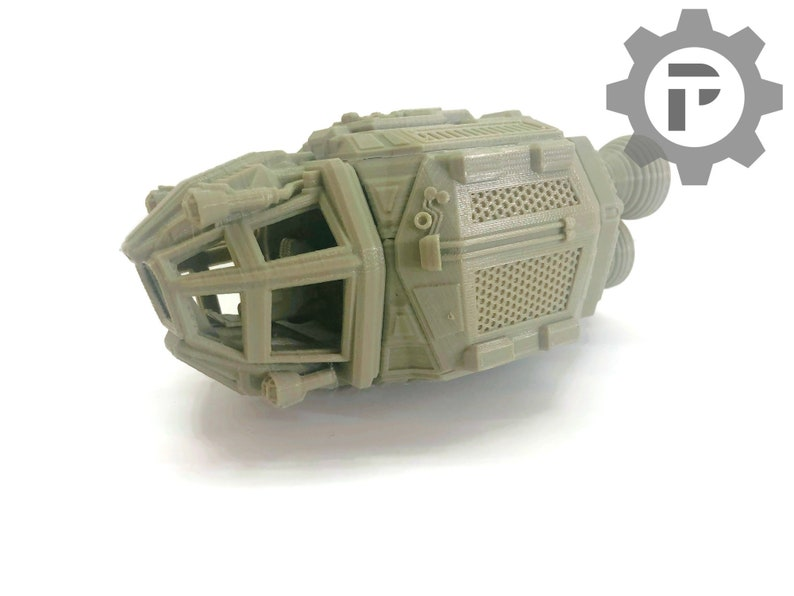 Escape Pod by The Dragons Rest. 28mm Wargame Terrain Great For image 0