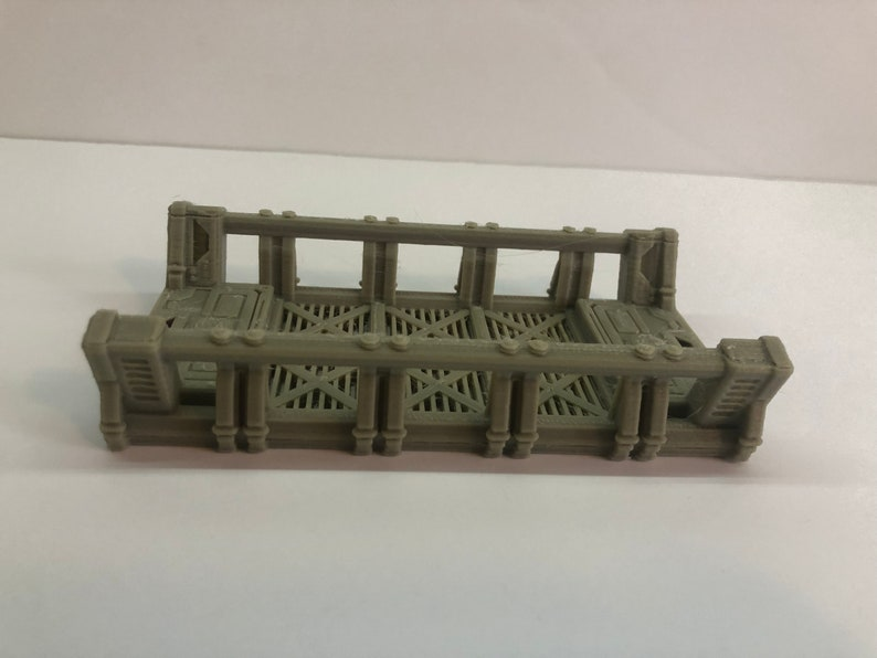 Modular Walkway Section Size 2X5 by The Dragons Rest. 28mm image 0