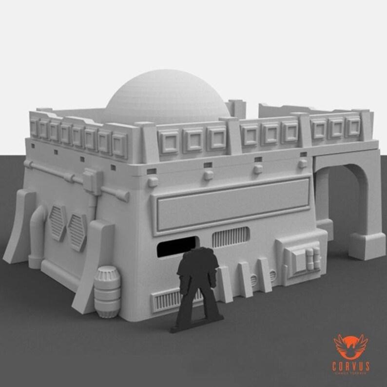 Desert Shop by Corvus Games Terrain 28mm Sci Fi Wargame Terrain, great for  Star Wars Legion, Infinity the Game