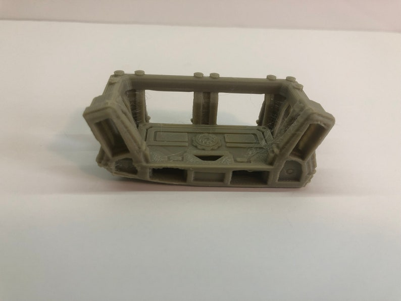 Modular Walkway End Cap X2 by The Dragons Rest. 28mm Wargame image 0