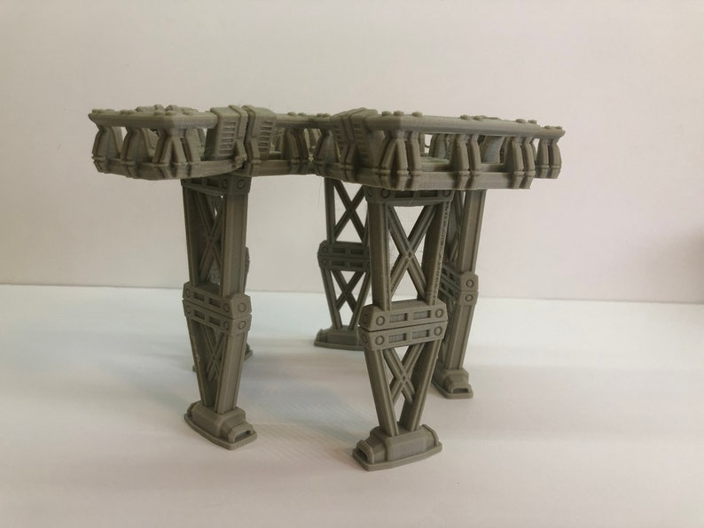 Modular Five Way Platform Kit by The Dragons Rest. 28mm image 0