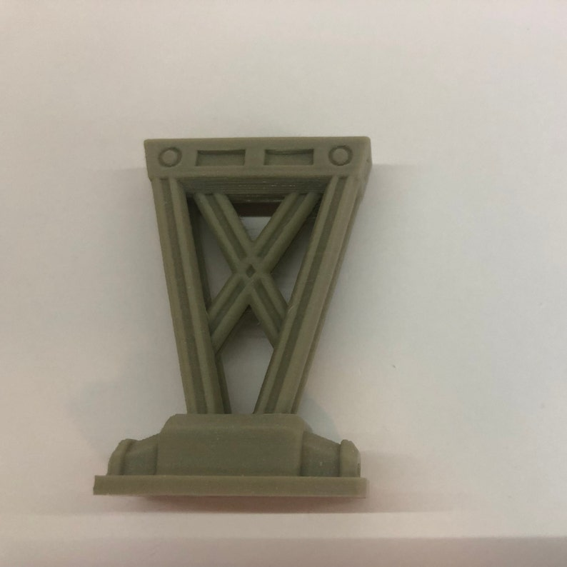 Modular Walkway Riser Leg X2 by The Dragons Rest. 28mm Wargame image 0
