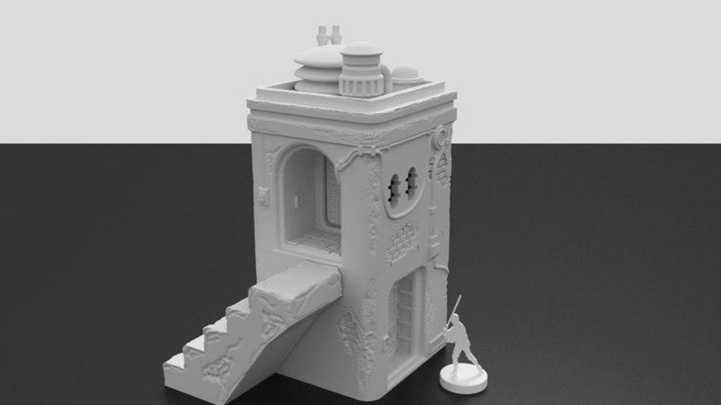 Pilgrim City House B by Corvus Games Terrain. 28mm Wargame image 0