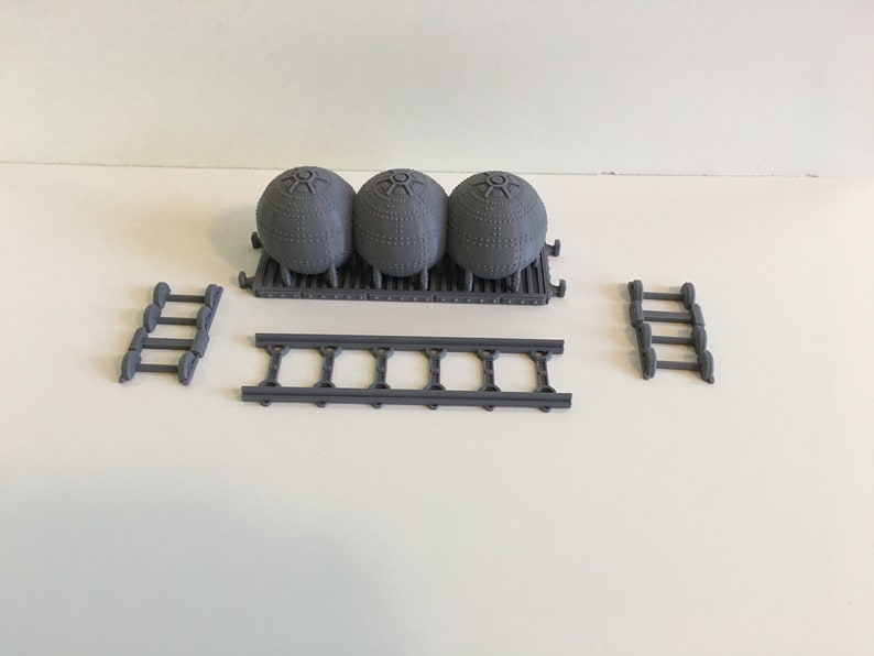 Waylayer  Gothic Train Prometium Car. 28mm Wargame Terrain image 0
