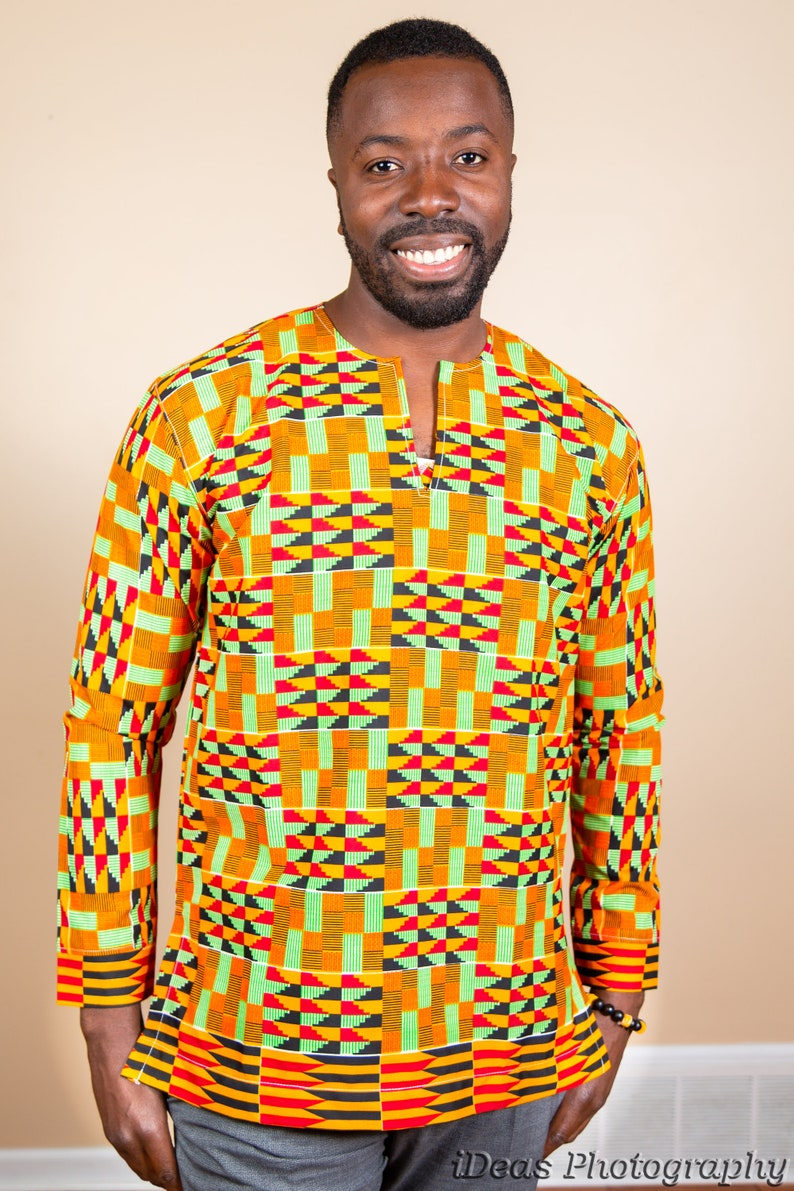 37bae26dcba African clothing Kente men s wear embroidery African