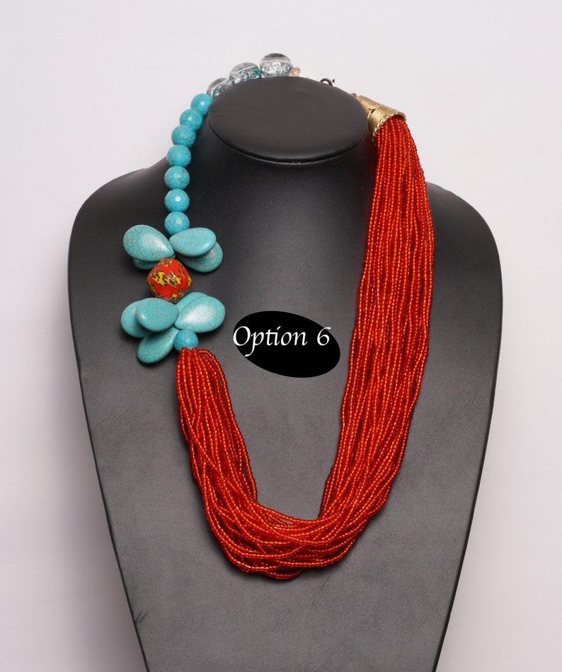 African Beaded Jewelry set