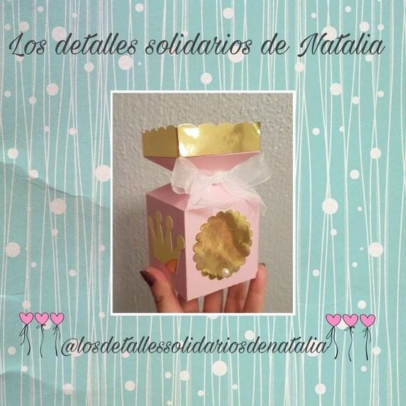 Detalles Solidarios Bautizo.Caja Chuches O Detalles Para Comunion Bautizo Baby Shower Y Cumpleanos