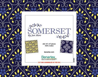 Jan Shore Orleans 10X10 Pack 42 10-inch Squares Layer Cake Benartex