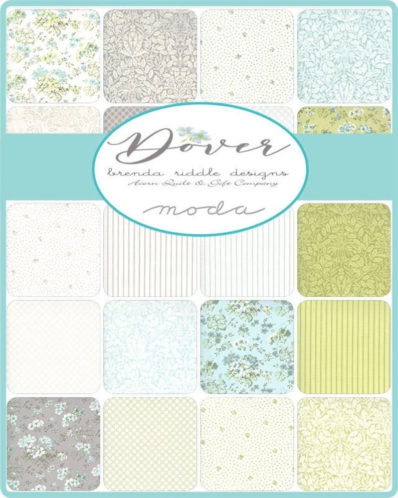 Dover Sea Glass Tonal Dot Moda Brenda Riddle 18704 14 Acorn Quilts