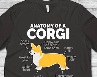 9d0935d3ed More colours. Corgi Shirt Corgi Gift ...