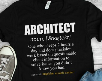 71f83724 Architect Shirt • Architect Gifts • Architecture Shirt • Gifts for  Architects • Architecture Gift • Architecture Major Funny Shirt