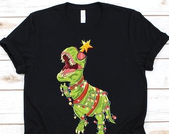 eca312405 Tree Rex Shirt • Christmas T-Rex • Christmas Dinosaur • Christmas Gift • T-Rex  Christmas Shirt • Funny Christmas Party Shirt