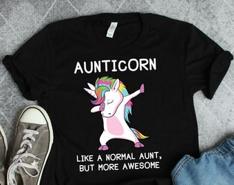 86977432d Aunt Gift • Aunt Shirt • Aunt Unicorn Shirt • Aunticorn Unicorn Aunt T-Shirt  • Gifts For Aunt • Auntie Shirt • New Aunt Sister Gift Unicorn