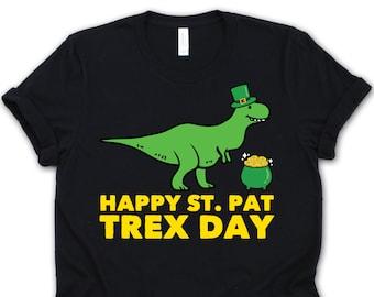 07e6e02e St Patrick's Dinosaur • St Pattrex Day • T-Rex St Patrick Gift • Dinosaur  Leprechaun • Funny St Patrick's Day Shirt • Leprechaun T-Rex Shirt