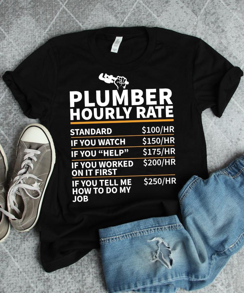 a5f8c46b Plumber Shirt Plumber Gift Gifts for Plumbers Plumbing | Etsy