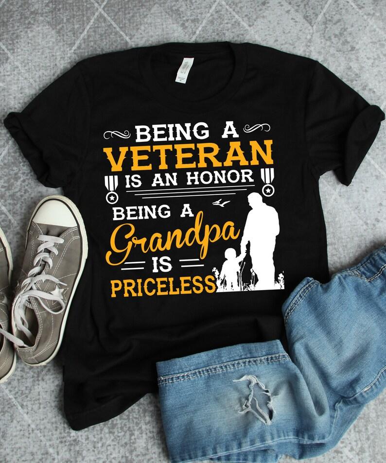 Veteran Grandpa Shirt Masswerks Store