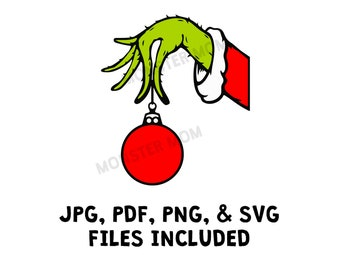 Grinch Hand Svg Etsy Including transparent png clip art, cartoon, icon, logo, silhouette, watercolors, outlines, etc. grinch hand svg etsy