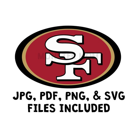 49ers Layered Svg 49ers Svg 49ers Png 49ers Clipart Etsy