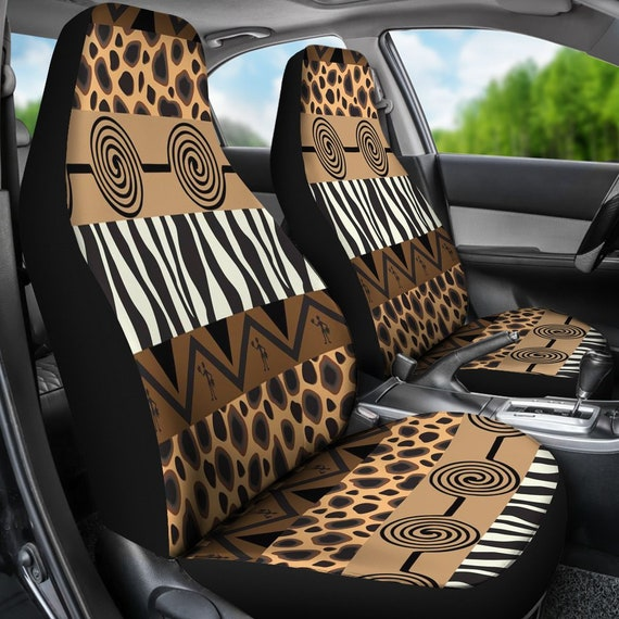 Miraculous Animal Print Car Seat Covers Tribal Art Car Seat Covers Tribal Pattern Ethnic Style Native Prints Ethnic Car Seat Cover For Vehicle A24 Machost Co Dining Chair Design Ideas Machostcouk