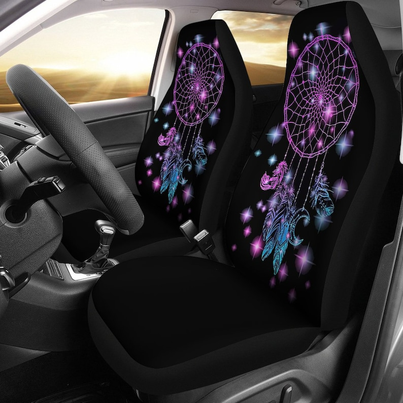 Boho Car Accessories Dream Catcher Seat Covers For Women ...