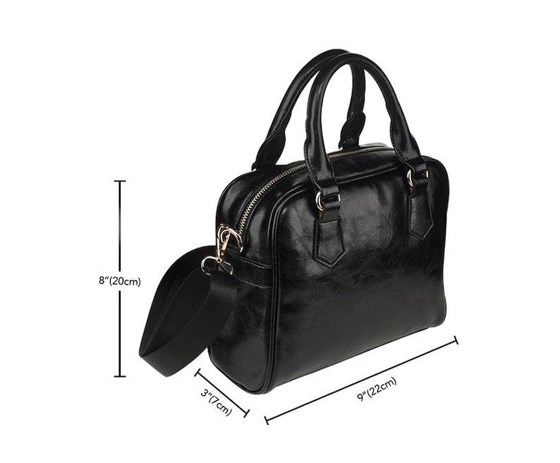 Handbag With Design Vegan Leather Purse Messenger Bag Women Womens Handbag Patriotic USA Flag Bag Shoulder Handbag