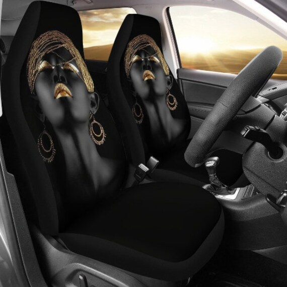 GLENLCWE Tribal Ethic Horse Car Seat Covers Full Set Front and Rear Seat Protection for Women//Ladies//Girls