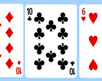 Line of 5 Playing Card Reading - Career/Work or General