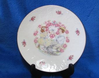 Vintage Royal Dalton My Valentine Collector Porcelain Plate
