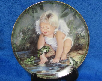 1989 Vintage Collector Porcelain Plate Tiny Blessings