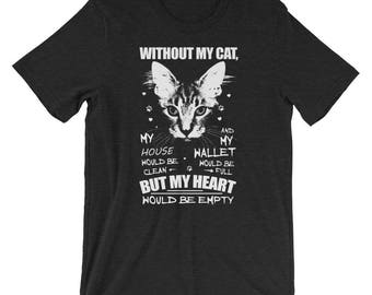 Without My Cat T-Shirt