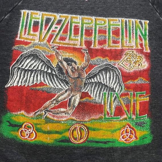 Vintage 80s, LED Zeppelin, crewneck, sweatshirt, t