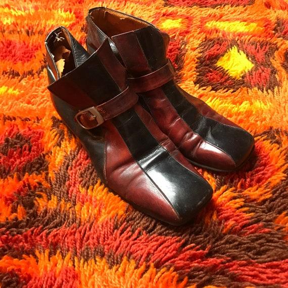 Vintage men's, 60's, 70's, disco shoes, loafers, d
