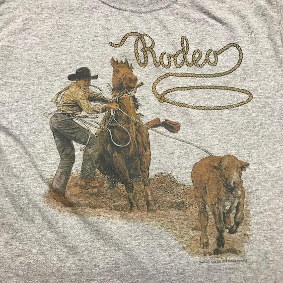 Western tee shirt, size small, men's tee shirt, wo