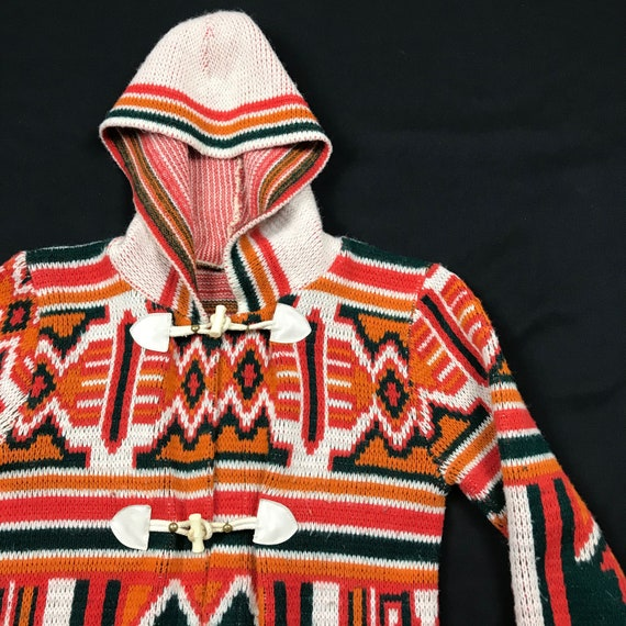 Awesome Vintage Woman's 60's/70's hoodie - image 10