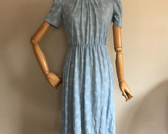 Vintage 60's, vintage 70's, lady carol petites dress, size small, vintage dress, vintage womans dress