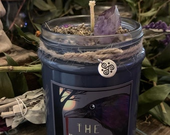 The Morrigan Ritual Candle