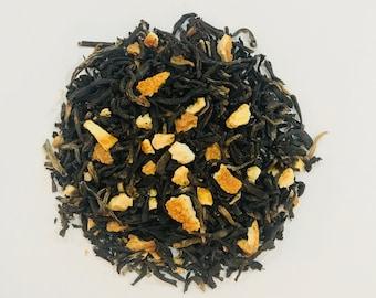 Black Organic: Black & Orange Organic Tea