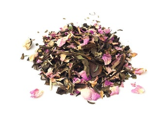 White Organic:  Jasmine Rose Melange