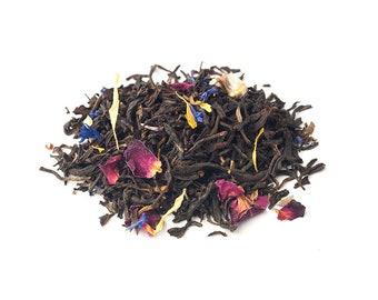 Black Organic: Earl's Classical Notes (Earl Gray Tea) - Cup of Joy Loose Leaf Tea