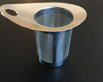 Durable Stainless Tall Mesh Infuser - Cup of Joy Teas