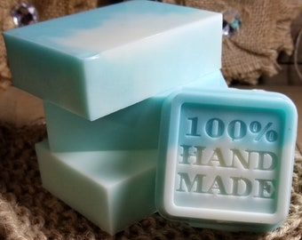 Ocean Breeze Goats Milk Glycerin Body Soap
