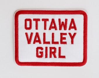 Ottawa Valley Girl Iron-On Patch